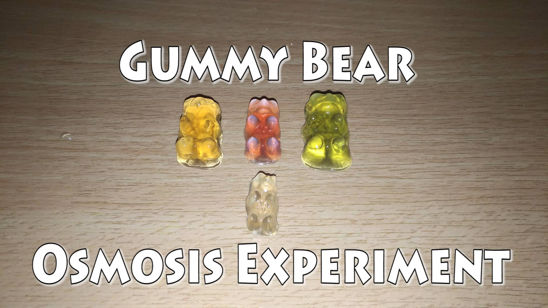 How to Oxidize a Gummy Bear