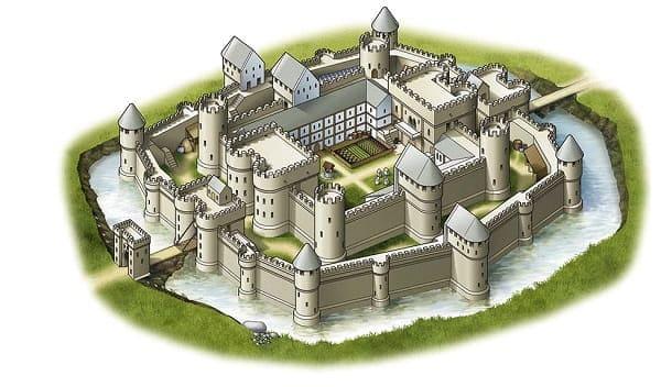 Kameni Donzon - popularni dvorci od 11 stoljeca