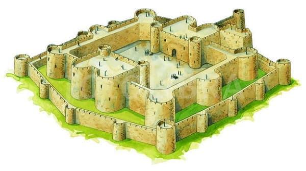 Koncentricni dvorac - najnapredniji dizajn dvorca
