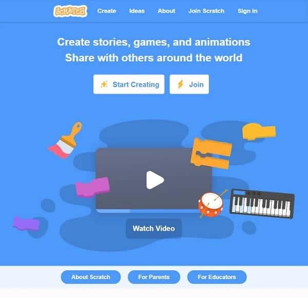 Ucenje programiranja pomocu Scratcha - Registrirajte se na Scratch
